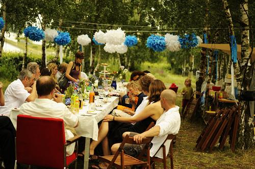 Casando no quintal Mari de casa