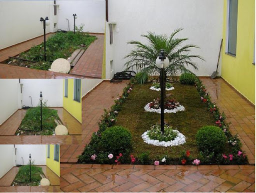 ideias de jardim japones : ideias de jardim japones:Como aproveitar os espaços embaixo da escada?